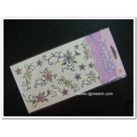 China Temporary Body Tattoo glitter tattoo sticker on sale