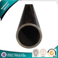 China BS1387 Round Welded Steel Pipe E235 Black Painted for water transportation on sale
