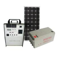 500W home Solar Power generator AC 220V/ DC 12V output USB fast charging used for TV Fan Manufactures