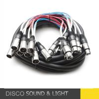 XLR Female to XLR male Stage Snake Cable OEM Service With Customer Manufactures