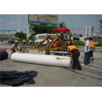 Environment Renewable Pavement Overlay permeable geotextile underlayment Manufactures