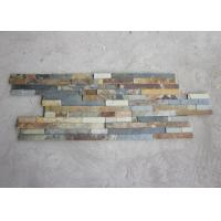 Lightweight Rusty Slate Artificial Culture Stone Cladding Wall Panels Anti Corrosion Manufactures
