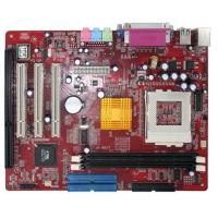 Quality VIA 8601 ATX Motherboard with One ISA Industrial Control for sale