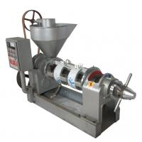 China Fast Feeding Speed Screw Oil Press Machine Rapeseed Oil Making Machine 545kg Weight on sale