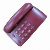 Simple Function Corded Speaker Telephone, Big Button, Home and Office Use, Multiple Color Selection Manufactures