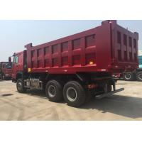 LHD 6X4 SINOTRUK HOWO Dump Truck With MINI Player 30 - 40 Ton WD615.47 Engine Manufactures