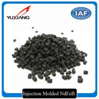 China High Consistency Injection Molded NdFeB , Magnetic Compounds Stable Performance on sale