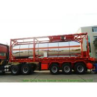 30FT   Steam Heating Insulated Tank Container Stanless Steel  For  Phosphoric Acid  H3PO4 Manufactures
