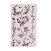 Eco - friendly Art Paper safty temporary tattoo Stickers with Full Color Offset Printing Manufactures