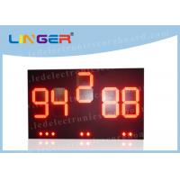 Outside UV Protection LED Baseball Scoreboard With Brackets 20 Inch Manufactures