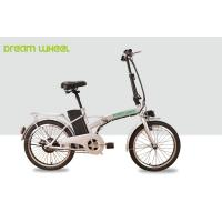 25km/h Small City Electric Bike Long Range 36V 250W Brushless Hub Motor Manufactures