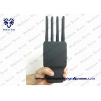 8 Bands Handheld Signal Jammer WIFI LOJACK GPS Jamming Device With Nylon Case Manufactures