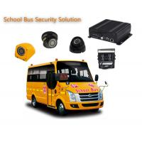 4 Channels 1080P / 720P 4 Camera Car DVR For School Buses , Mobile DVR Systems Manufactures