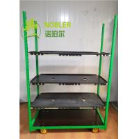 Buy cheap Danish Flower Trolleys Garden Center Racks Pvc CC Racks For Display from wholesalers