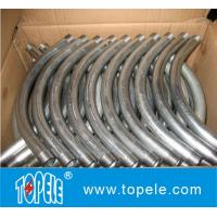 UL Listed 90 Degree EMT Conduit And Fittings Pre-galvanized Steel EMT Conduit Elbows Manufactures