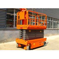 China Commercial Stationary Scissor Lift Platforms Single Man Movable Lightweight on sale