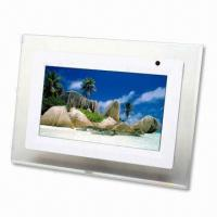 China 7-inch Digital Photo Frame, Supports JPEG with Aspect Ratio:16:9 on sale