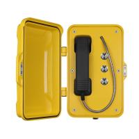 Moisture Resistant Outdoor SIP Phone Aluminum Alloy Material With Emergency Buttons Manufactures