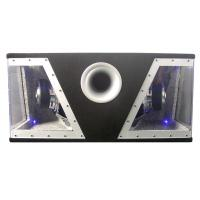 Changable 2 Color Car Speaker Boombox With Double Stacked Magnet Manufactures