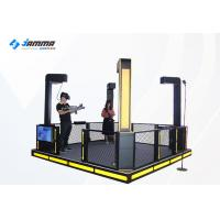 Automatic Lift Virtual Reality Simulator 4 Players 9D Gun Shooting Game Manufactures