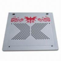 Notebook Cooling Pad are Made of Aluminium with Two Fans Manufactures