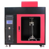 PLC + Touch Screen Control  Automotive Interior Material Vertical Combustion Tester
