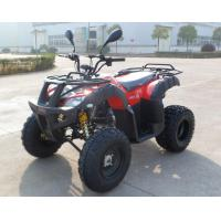 Quality Black Rim EEC Quad Bike , EPA ATV On Road Legal Bike With One Seat for sale