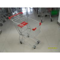 Zinc plating  powder coating with Shopping Cart Trolley 100L used in small shop Manufactures
