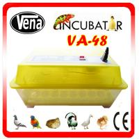 2014 Best popular automatic 48 chicken eggs incubator hatching machine for selling VA-48 Manufactures