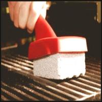 BBQ grill cleaning stone with holder Manufactures