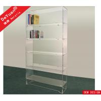 Detachable Study Room Acrylic Book Shelf Transparent Acrylic Sheet For Book Collection Manufactures