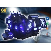 7m² Virtual Reality Movie Theater Multiple Real Effects VR Warship Armor Shape Manufactures