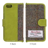 China Leather Harris Tweed Phone Case , IPhone 5 5s Iphone SE Wallet Case on sale