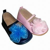 China Baby's Shoes with Squeaky Outsole, Available in Various Colors on sale