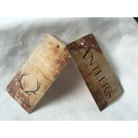China Specialized Custom Merchandise Hang Tags , Unique Gift Hang Tags For Jewelry on sale