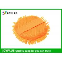 Eco Friendly Chenille Car Wash Pad , Chenille Microfiber Wash Mitt JOYPLUS Manufactures