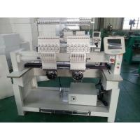 Industrial Monogramming Machine Two Heads , Cloth Embroidery Machine CT1202 Manufactures