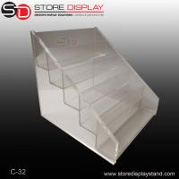 Quality Transparent Acrylic counter top display for tools on the table for sale