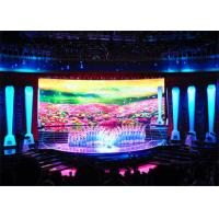 Mobile Portable LED Backdrop Screen Rental , P4 Indoor LED Display Board Full Color Manufactures