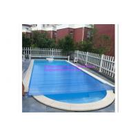 Above Ground Pool / Swimming Pool Control System Transparent Blue PVC Material Cover Manufactures