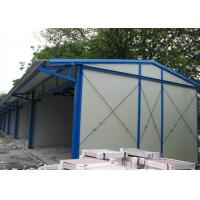 Eps Prefab Metal House , Prefabricated Metal Homes Light Steel Structure Main Frame Manufactures
