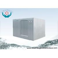 1200 Liter Large Steam Sterilizer With Safety Valves In Jacket and Chamber Manufactures