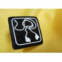Small Mini Custom Embossed 3D Rubber Badge Silicon Patch for Shoes Manufactures