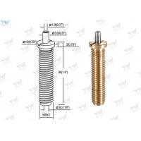 Precision M 8 Fully Threaded Brass Cable Gripper / Aircraft Cable Adjustable Fittings Manufactures