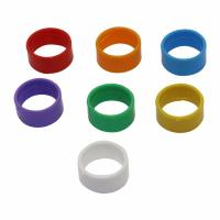 Quality Buckle Type Clip Poultry Leg Rings Plastic Material Internal Diameter 25mm for sale