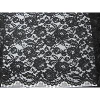 Heavy Corded Lace Fabric Black Manufactures