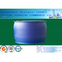 IPAC Isopropyl Acetate Paint Solvent CAS 108-21-4 With Pleasant Fragrance