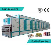 6 Layer Dryer Fast Automatic Pulp Moulding Machinery For Egg Tray / Egg Box Manufactures