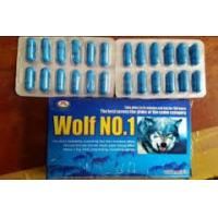 China Wolf NO.1 Penis Enlargement Capsule Herb Sex Medicine For Men Lacking Energy on sale