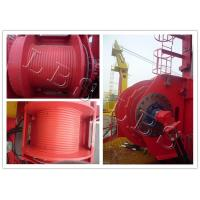 Buy cheap Single Drum Slow Speed 45kn 50kn Rated Load Electric Winch for Hoist and Marine Use from wholesalers
